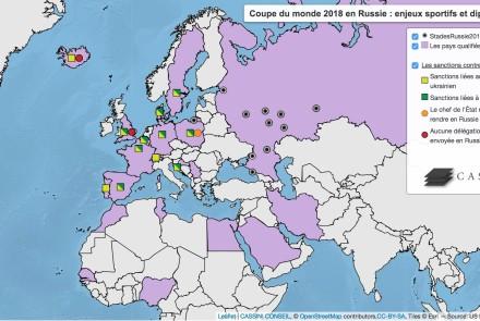 Carte. geopolitique du football mondial russie 2018